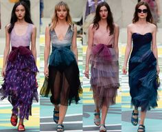 Burberry Spring 2015 RTW Collection - Best of London Fashion Week #lfw