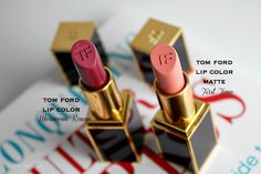 Pink-Peach and Berry Lips Feat. Tom Ford Lip Color Matte First Time and Tom Ford Lip Color Moroccan Rouge
