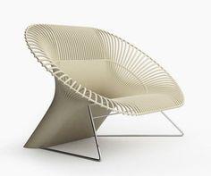 Calla - Lounge chair  chair . Stuhl . chaise  Design:  Dolcefarniente 