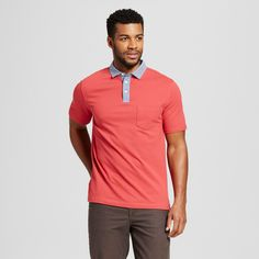 Men's Polo Shirt - Mossimo Supply Co. Red Xxl