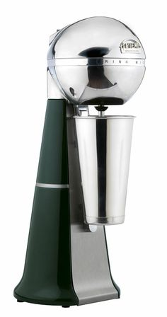 A-2001 Retro Green Drink Mixer with inox cup. #green