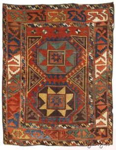 a Konya village rug from the end of the century. Size 171 x 134 cm.Oriental Carpets, Textiles and Tapestries at Dorotheum Shag Carpet, Rugs On Carpet, Buy Carpet, Persian Carpet, Persian Rug, Turkish Rugs, Art Chinois, Art Japonais, Textiles