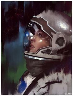 Interstellar Anne Hathaway fan-art, Danar Worya on ArtStation at http://www.artstation.com/artwork/interstellar-anne-hathaway-fan-art
