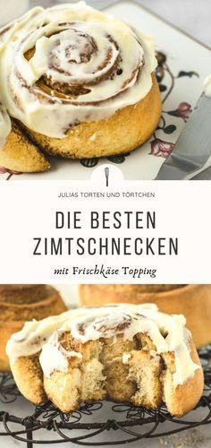 Die besten Zimtschnecken mit Frischkäse Topping Galette, Pancakes, French Toast, Breakfast, Croissants, Germany, Muffins, Food, Pie