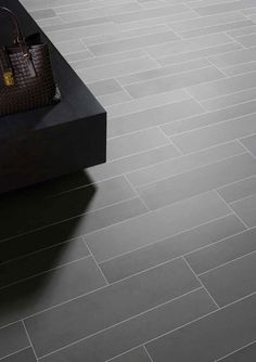 Ceramic floor tile - concrete look -TERRA TONES by ROYAL MOSA.