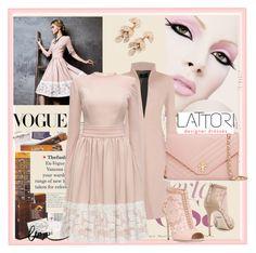 """LATORI 11"" by lip-balm ❤ liked on Polyvore featuring Vision, Lattori, Dolce&Gabbana, Tory Burch, Pasquale Bruni and lattori"