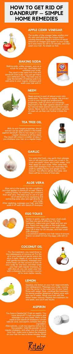 How to Get Rid of Dandruff – Simple Home Remedies #HomeRemediesforDandruff