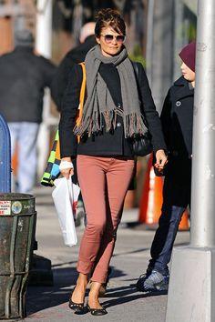 Helena Christensen and Mingus Lucien Reedus - Helena Christensen in NYC