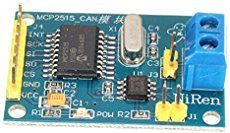 MCP2515 TJA1050 CAN Bus Module These Arduino CAN Bus modules are based on the MCP2515 CAN Controller and the TJA1050 CAN Transceiver.   They provide a lot of bang for the buck and will allow you st…