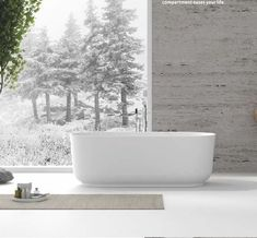 1600mm Elegant freestanding bathtub design. Slight taper at the base with a simple pedestal design. Perfect for a luxury style apartment or high end feel. Contact Prodigg today to find the perfect bathtub for your space. Square Bathtub, Small Bathtub, Freestanding Bathtub, Stone Bathtub, Cast Iron Bathtub, Bath Tubs, Solid Surface, New Model, Pedestal