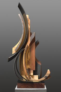 i love this amazing sculpture by sedonya kay fire water mixed recycled wood and mild. Black Bedroom Furniture Sets. Home Design Ideas