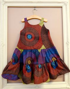 "Pipits ""Beautiful Dresses for Beautiful Little Girls"" African Fashion Ankara, Latest African Fashion Dresses, African Print Fashion, Africa Fashion, African Dresses For Kids, African Print Dresses, African Print Dress Designs, Kids Dress Wear, Kids Dress Patterns"