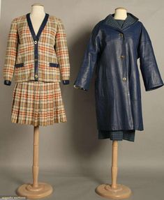 Two Bonnie Cashin Outfits, Late 1960s, Augusta Auctions, November 10, 2010 - St. Pauls - NYC, Lot 143