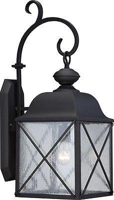 Nuvo Lighting 60/5622 Wingate 1 Light 25 inch Textured Black Outdoor Wall Light