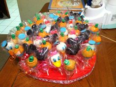 Mickey Mouse Club House Cake Pops