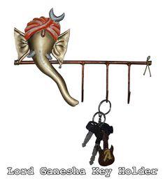 Offers2Go -#homedecor #keyholders #lordVINAYAKA #HomeSparkle  Lord #Ganesha Iron Key Holder || #offers2go  For more @ http://offers2go.com/subcategory/homedecor-20/keyholdersvases-113 #KeyHooks #WallKeyHolder #bestdeal