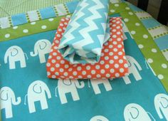 Baby Bedding Crib Stroller  Quilt  cotton by ThePincushionStore, $67.00