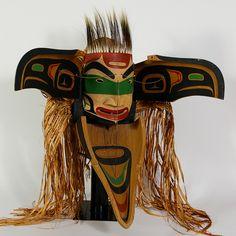 George David  Red Cedar Mask  Sea Raven Transformation