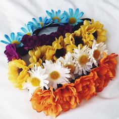Accessories - Bundle of Floral Crowns on Poshmark
