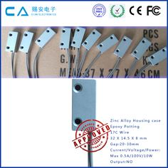 Wired Security Door Magnetic Contact
