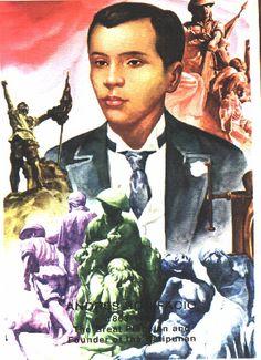 Andrés Bonifacio y de Castro November 1863 – 10 May Comic Book Background, Filipiniana, My Heritage, Pinoy, Philippines, November, Fox, Comic Books, Superhero