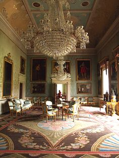 The Saloon - Saltram House - Plymton - Plymouth - England