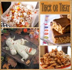 It's Written on the Wall: 25 Yummy Halloween Desserts/Treats with Recipes