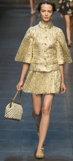 Dolce & Gabbana Ready To Wear Spring 2014