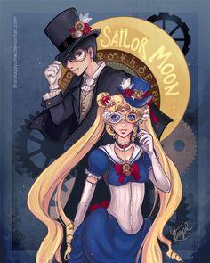 Steampunk Sailor Moon by StarMasayume.deviantart.com