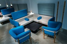 Introduced for the first time at IMM Cologne - armchair Dowel and benches: Goofy & Diner