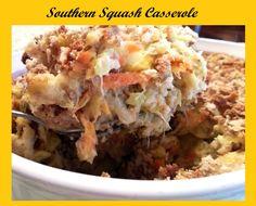 Squash Casserole- Delicious