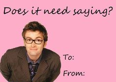 Doctor Who valentine. This is not okay.