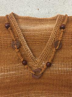 Вязание спицами. Оформление выреза Sweaters, Handmade, Fashion, Hand Made, Moda, La Mode, Pullover, Sweater, Craft