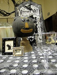 Witches Night Out Relief Society Activity