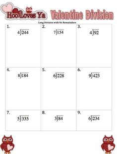 math worksheet : 1000 images about long ision on pinterest  long ision  : Long Division Worksheets No Remainders