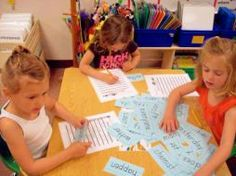 """Chunky Monkey-students look for hidden """"chunks"""" in bigger words."""