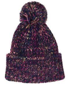 9cb78eb949c Chunky Pom Beanie Floppy Hats