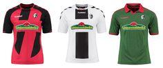 Camisas do Freiburg 2016-2017 Hummel