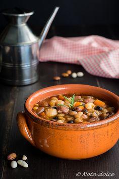 Fagiolata ricetta zuppa facile e gustosa