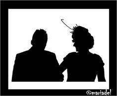 Lady mariadel and gentleman francisco javier