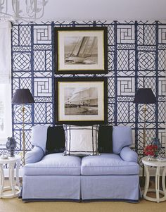 lattice wallpaper from bob collins. meg braff