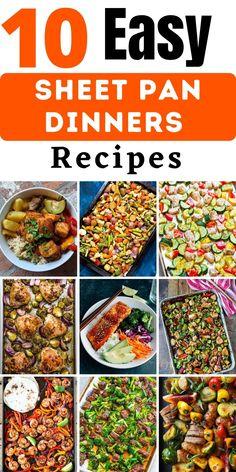 Easy Delicious Recipes, Easy Healthy Recipes, Easy Dinner Recipes, Easy Weeknight Dinners, Easy Meals, Honey Glazed Pork Chops, Salmon Dishes, Fajita Recipe, Fast Healthy Meals