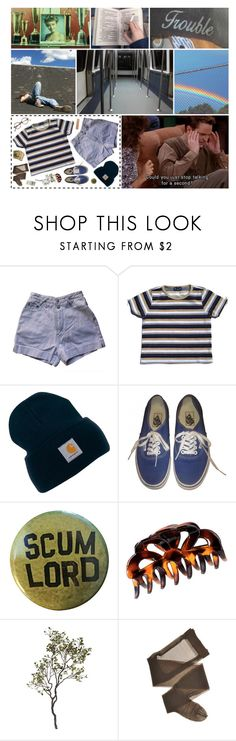 """""""I'LL HOLD YOUR HAND TILL THE VERY END"""" by pop-punk-pizza-party-massacre ❤ liked on Polyvore featuring Carhartt, Vans, H&M and Crate and Barrel"""