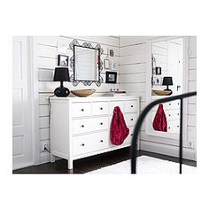 HEMNES 8-drawer dresser - IKEA  Love this dresser...maybe for Andy's room, but maybe white isn't the right color.