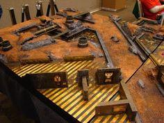 Fritz40K: Building A Warhammer 40K Skirmish Board