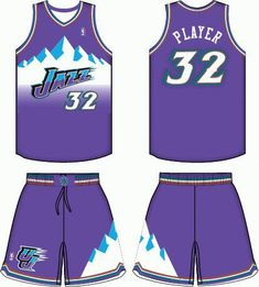 359522e6f45 Utah Jazz Favorite Jersey of all time! #jazzbasketball New York Basketball, Jazz  Basketball