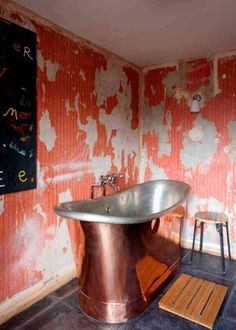 ...because the walls in this bathroom might just be the best thing EVER!