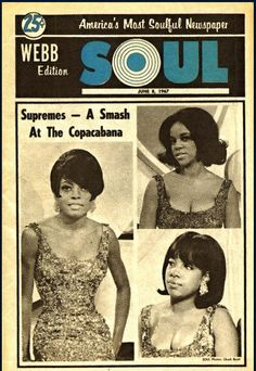 Diana Ross Supremes, Jazz, Mary Wilson, Mod Girl, Black Magazine, Soul Singers, Soul Funk, Music Images, Music Magazines