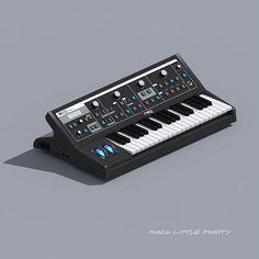 Moog Little Phatty #moog #littlephatty #synthesizer https://www.instagram.com/phlatsynth/