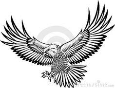 Gallery For Flying Hawk Tattoo